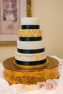 Regal Black & Gold - Wedding Photography